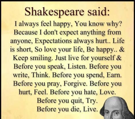 shakespeare-said